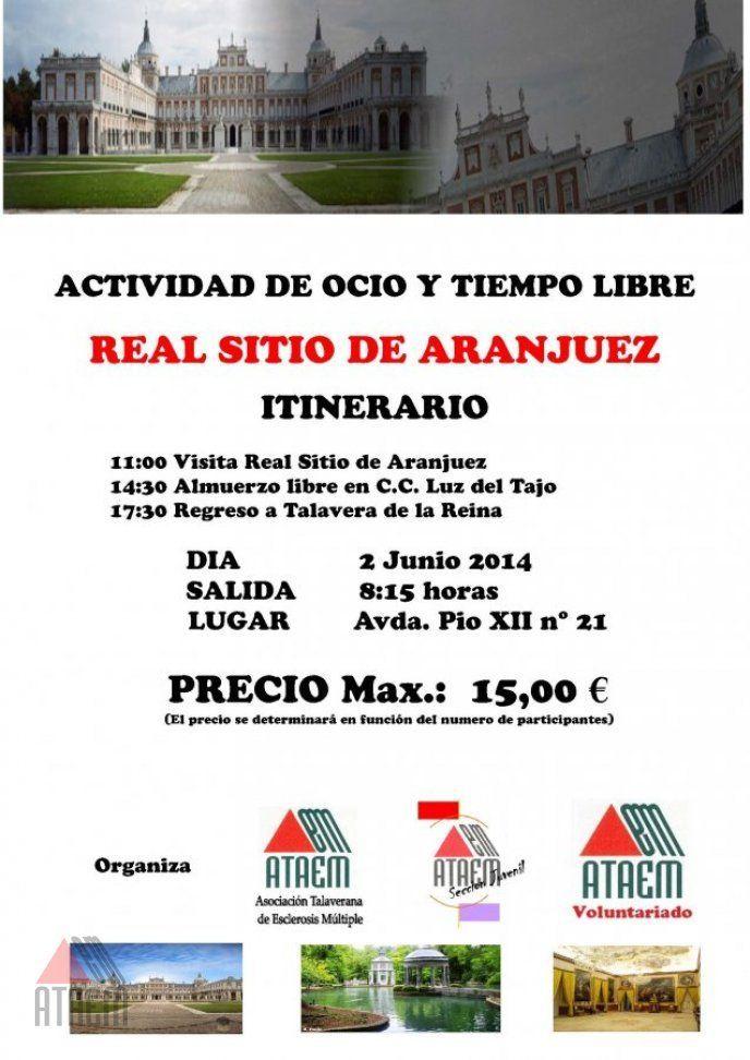 ACTIVIDAD OCIO Y TIEMPO LIBRE: REAL SITIO DE ARANJUEZ