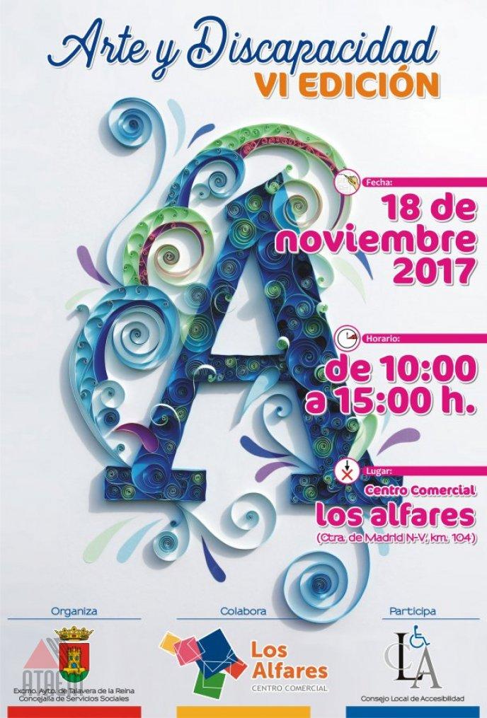 ATAEM PARTICIPARA EL 18 DE NOV EN LA VI JORNADA DE ARTE Y DISCAPACIDAD