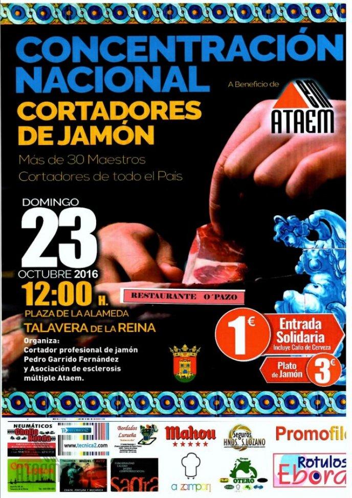 CONCENTRACION SOLIDARIA DE CORTADORES PROFESIONALES DE JAMON