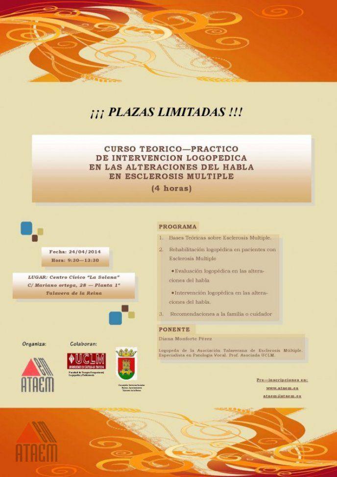 Curso Logopedia Teorico Practico Abril 2014