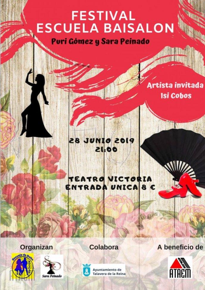 Festival Escuela Baisalón a favor de ATAEM