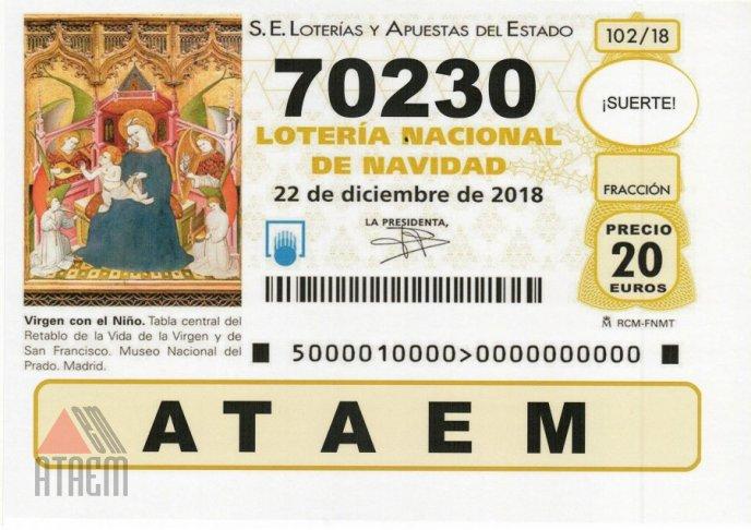 LOTERIA DE NAVIDAD 2018