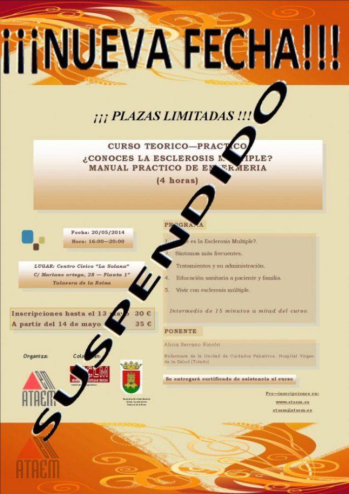 SUSPENDIDO Curso Enfermería Teorico Practico 2014