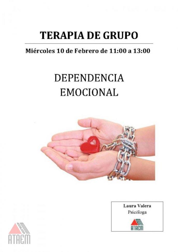 """TERAPIA DE GRUPO: """"Dependencia Emocional"""""""