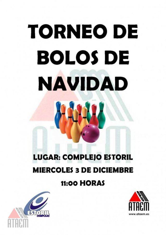 TORNEO DE BOLOS DE NAVIDAD