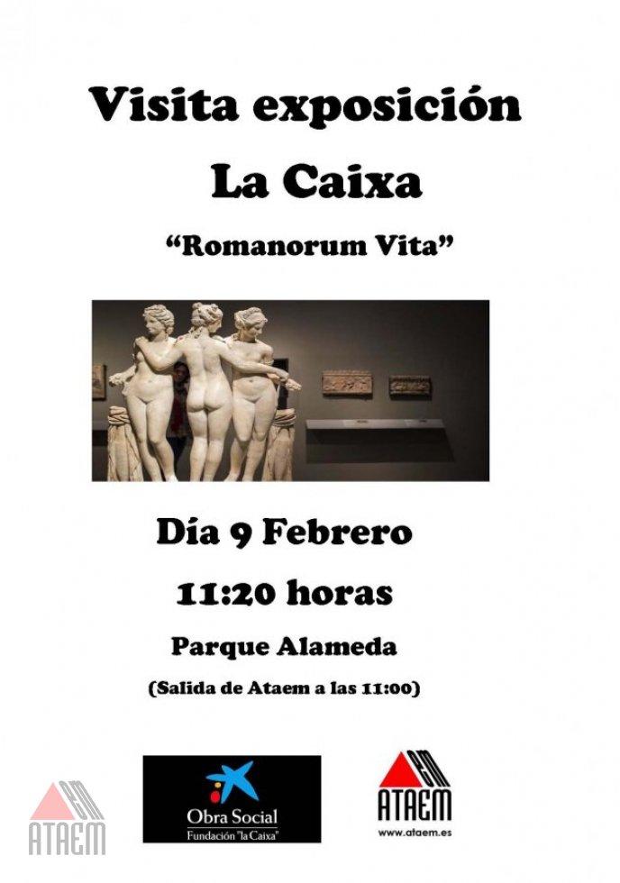 VISITA EXPOSICION LA CAIXA