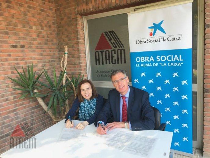 ATAEM Y CAIXA FIRMAN UN CONVENIO PARA 2019